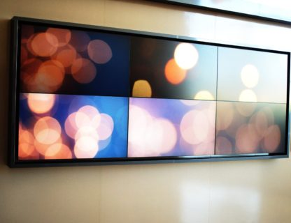 Pure Image Multi Panel Display