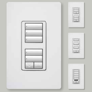 Lutron Radio Ra2 Keypads make for excellent lighting control solutions.